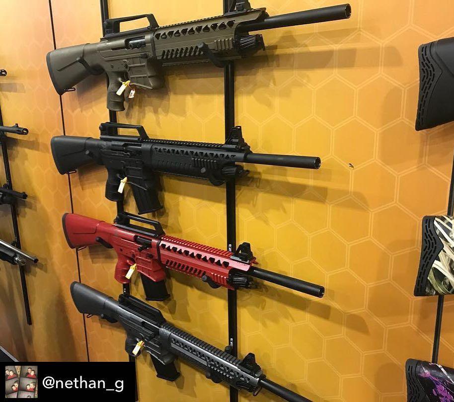 Our VR60 shotguns on display at #shotshow2018
