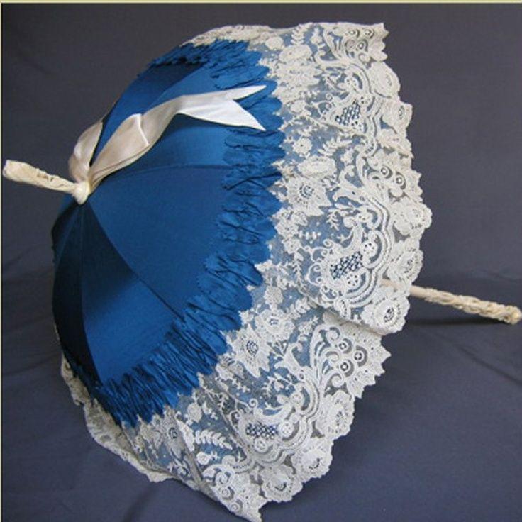 Victorian Parasols Recovered Parasol Antique Victorian Parasols Parasol Lace Parasol Fancy Umbrella