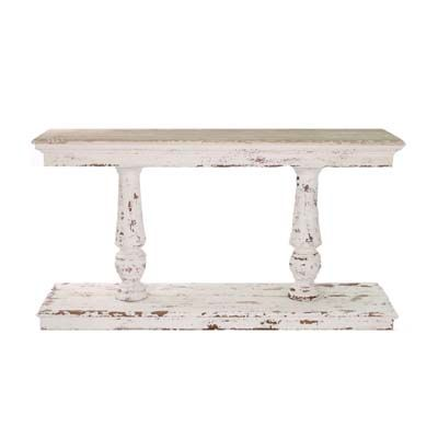 Rustic Old World French Console