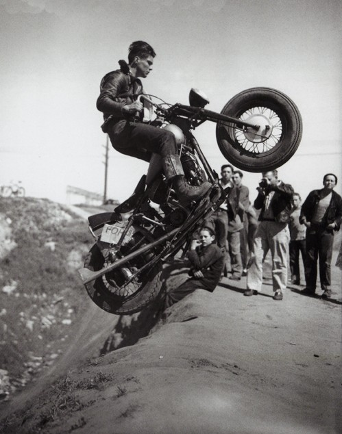 Post-War Indian Scout. And badassery. These guys really were the original inspirationists.
