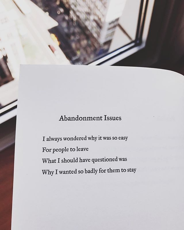 loving a man with abandonment issues