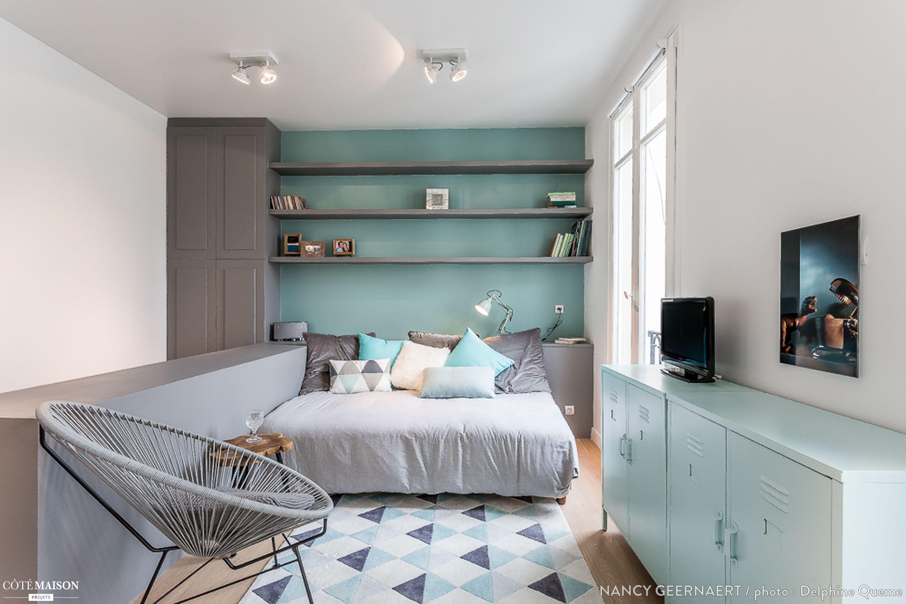 rnovation complte et dcoration dun studio au coeur de paris paris nancy geernaert architecte dintrieur