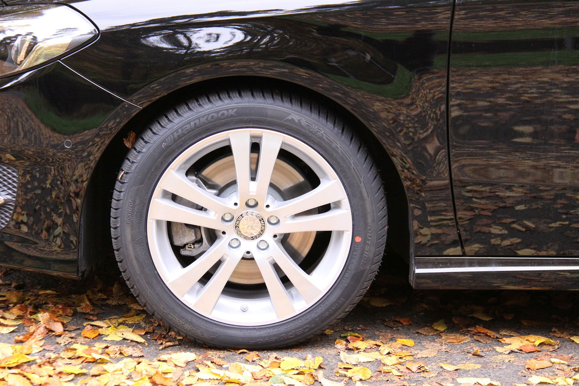 Mercedes Benz B-Klasse mit ProLine Alufelgen