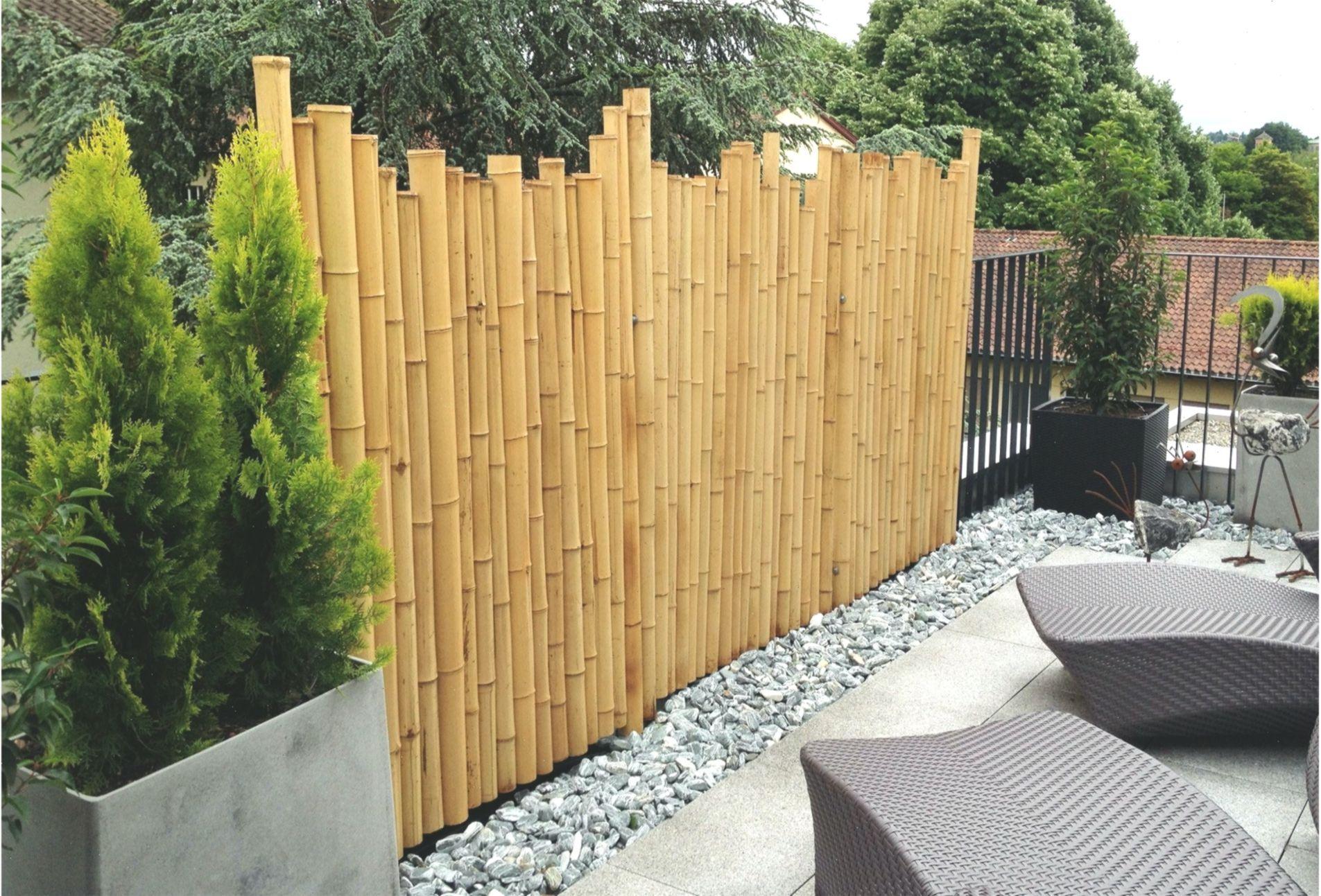 Gallery Of Balkon Sichtschutz Terrasse Pinterest Bambus