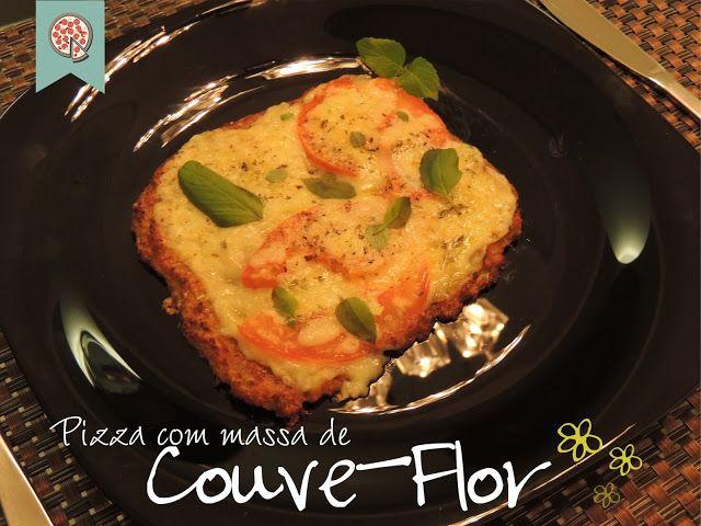 Confraria dos Chefs: Pizza com massa de Couve-Flor!( massa com queijo)