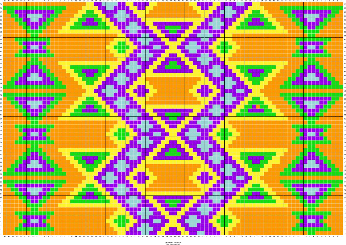 Copy of Mochila | Stitch Fiddle - Stitch Fiddle | knit and crochet ...