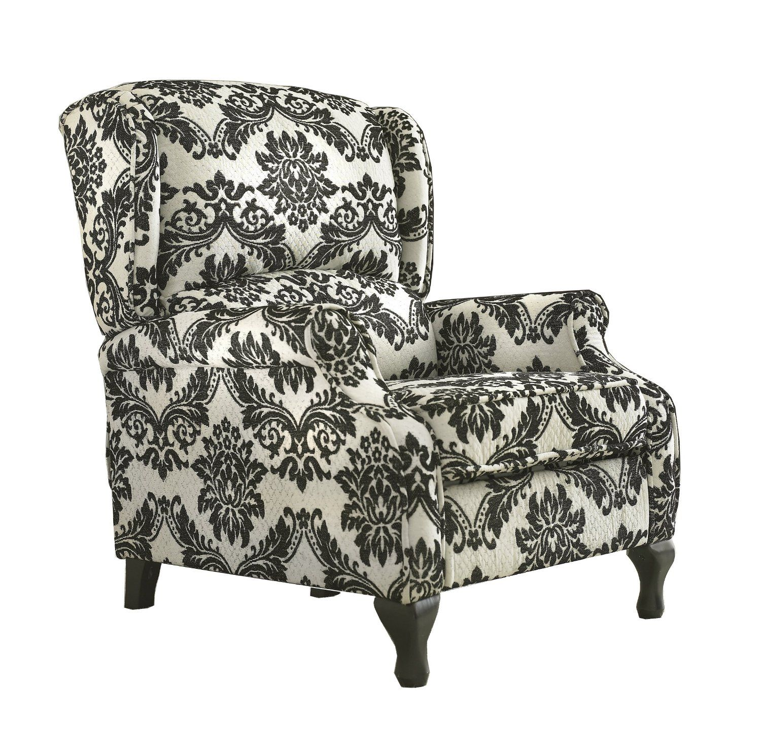 Damask lounge chair - Steals Modern Wing Back Chairs Under 300 Life Style Bargain