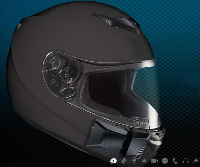 Motorcycle Helmet With Hud >> Nuviz Hud For Motorcycle Helmets Dudeiwantthat Com Wants