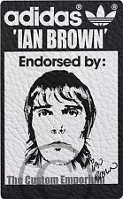 ca5962ccac05 IAN BROWN THE STONE ROSES ADIDAS ORIGINALS PRINT A3 LIMITED EDITION  MANCHESTER