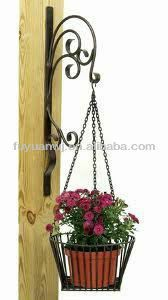 Pin By Desarie Gonzales On Wrought Iron Metal Plant Hangers Plant Hanger Plant Decor