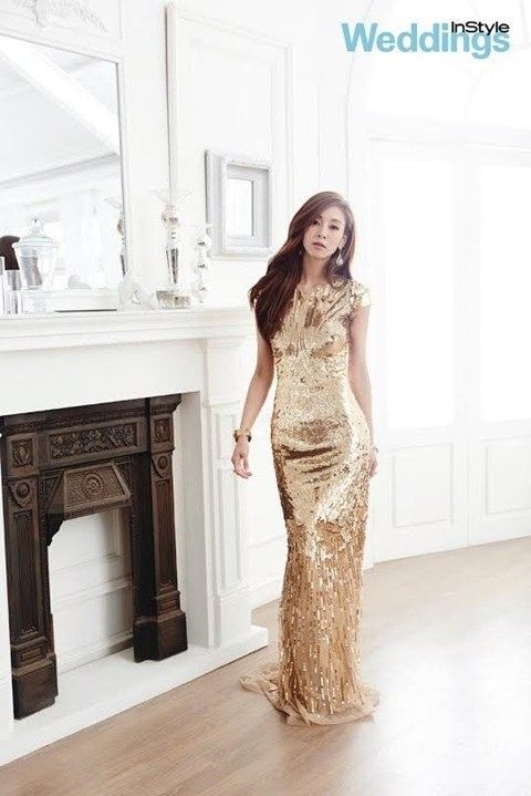 G.NA is a knock-out in stunning gowns for 'InStyle Weddings' | allkpop.com
