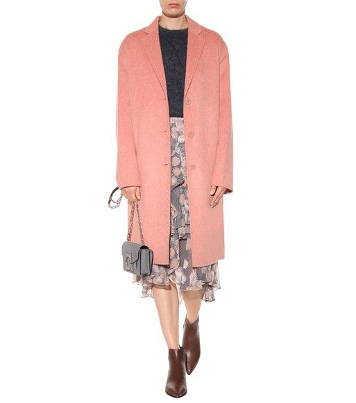 Acne Studios - Avalon Doublé wool and cashmere coat - mytheresa.com