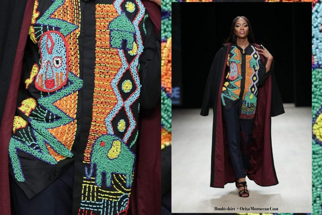 Divinity To Form Western Style Outfits African Pattern Nigerian Outfits