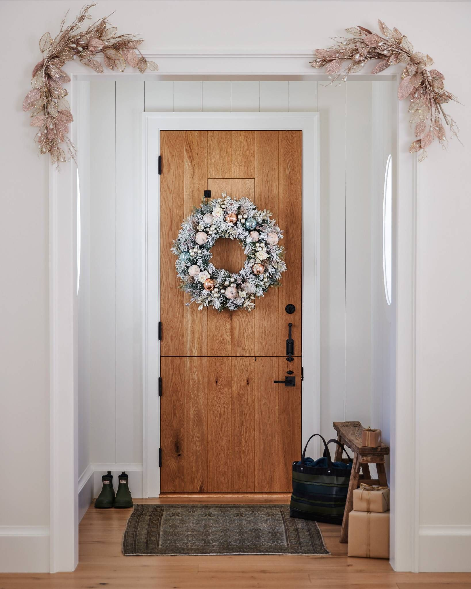 Winter Wishes Foliage In 2019 Christmas Wreaths And Garlands