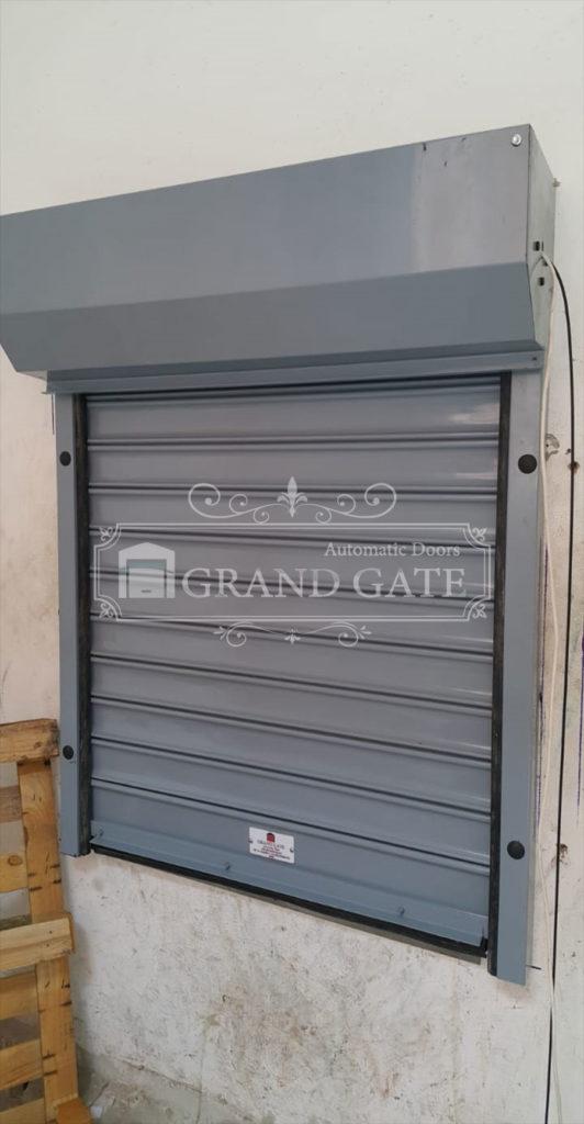 ابواب رول شتر للمحلات والجراجات Automatic Door Doors Shutters
