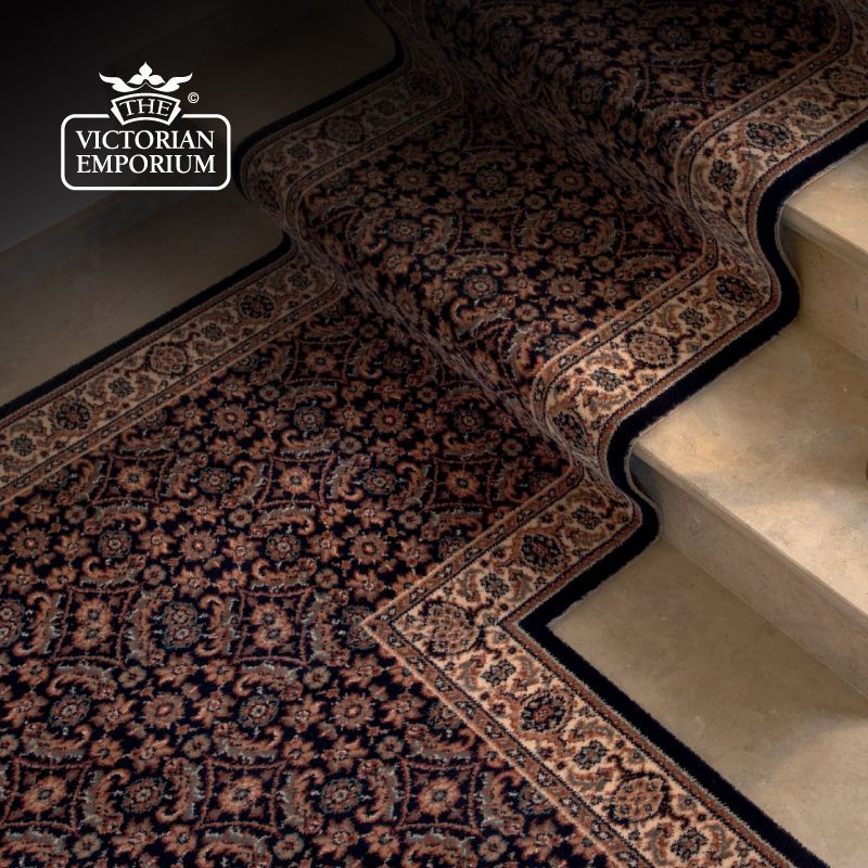 Floor Runner Melbourne: Victorian Stair Runner Carpet