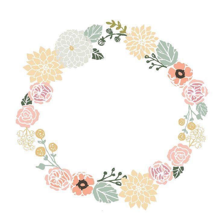 Vintage Flower Frame Vector Png Google Search