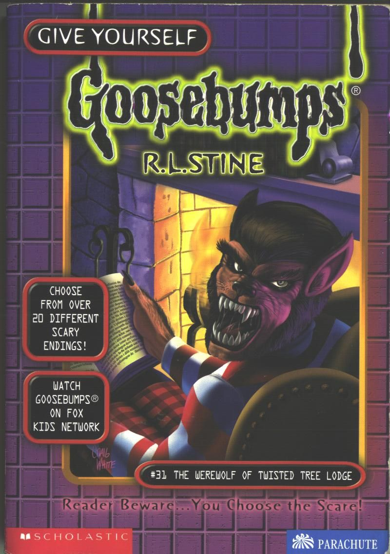 R L Stine Give Yourself Gooseps 31 The Werewolf Of Twisted Tree Lodge