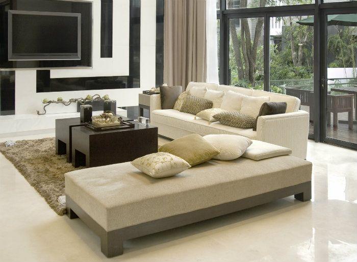 Wohnzimmer Designs Heiße Farbe Dekoration Trends 2015 #Inspiration ...