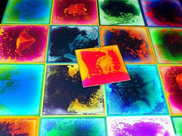 Pvc Bodenbelag Fliesen Bunt Wohnen Pinterest Flooring Tiles