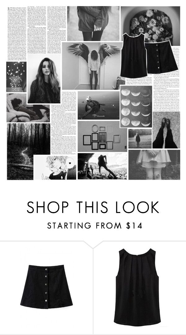 """""""Beautiful Halo #16"""" by nightlock ❤ liked on Polyvore featuring Edition, Zephyr, Ashby, WithChic, blackandwhite, spon, fashionset, beautifulhalo and bhalo"""