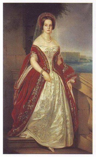 1841, russische Hofkleidung