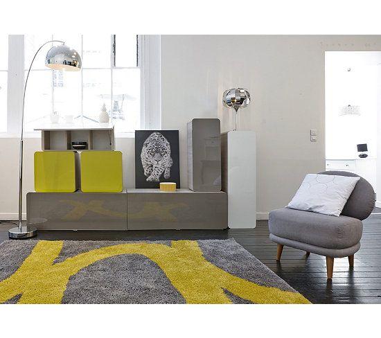 tapis tapis 160x230 cm aaron jaunegris - Tapis 160x230