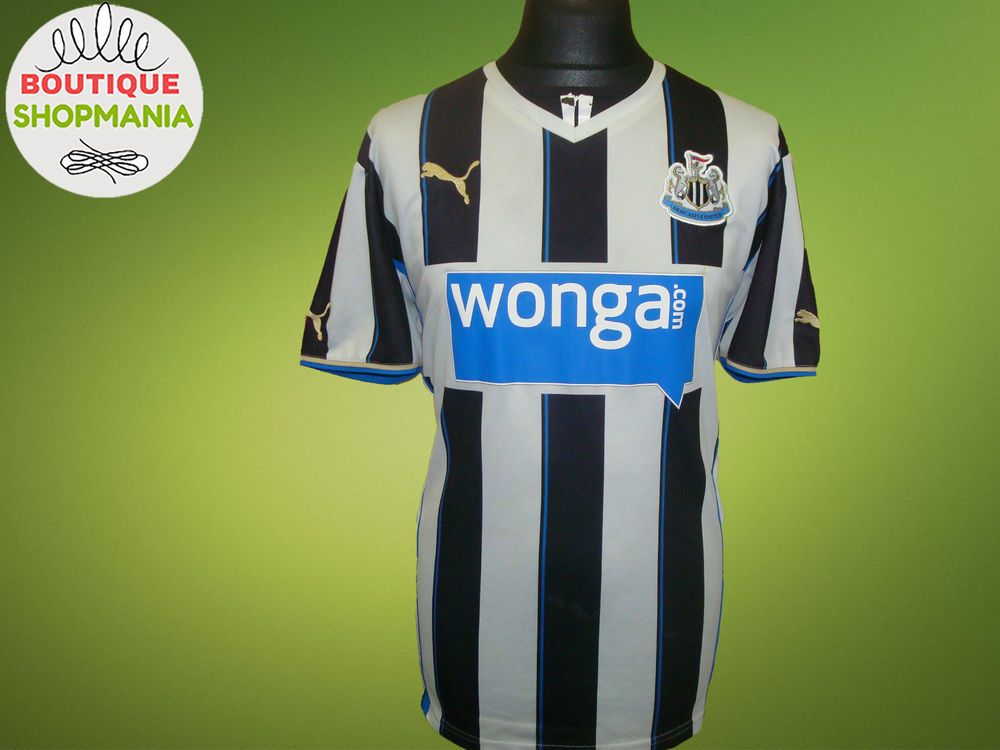 NEWCASTLE UNITED HOME 2013-2014 (XL) PUMA FOOTBALL SHIRT Jersey Maglia  Camisa 7ffb8cf94ea23