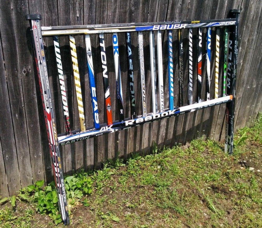 Boys hockey bedroom ideas - Hockey Stick Headboard Headboard Designs Boys Hockey Bedroomhockey