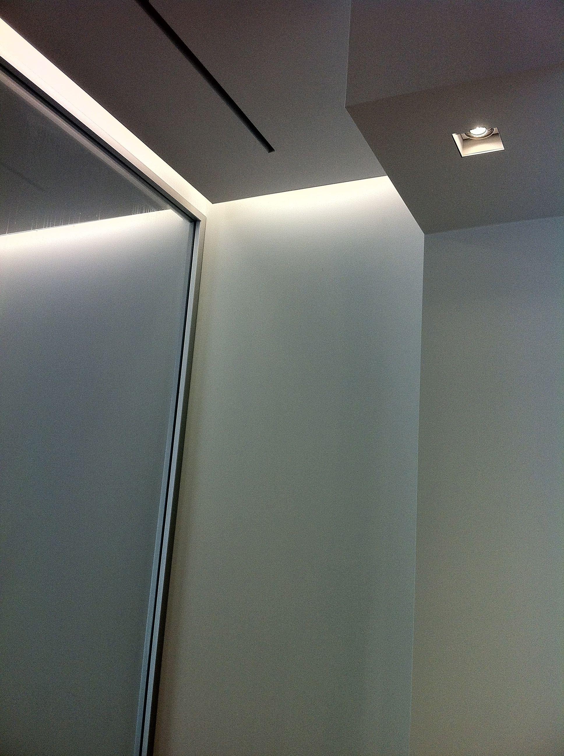 indirect lighting design. Elegant Indirect Lighting Combined With Sleek Design, Showroom In Belgium _ Design