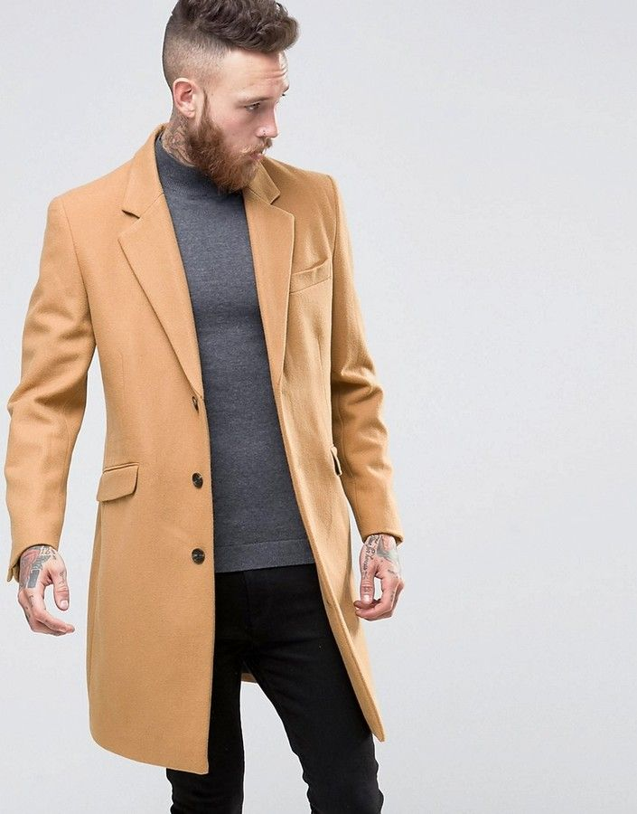 Pin On Men S Jackets, Camel Color Trench Coat Mens