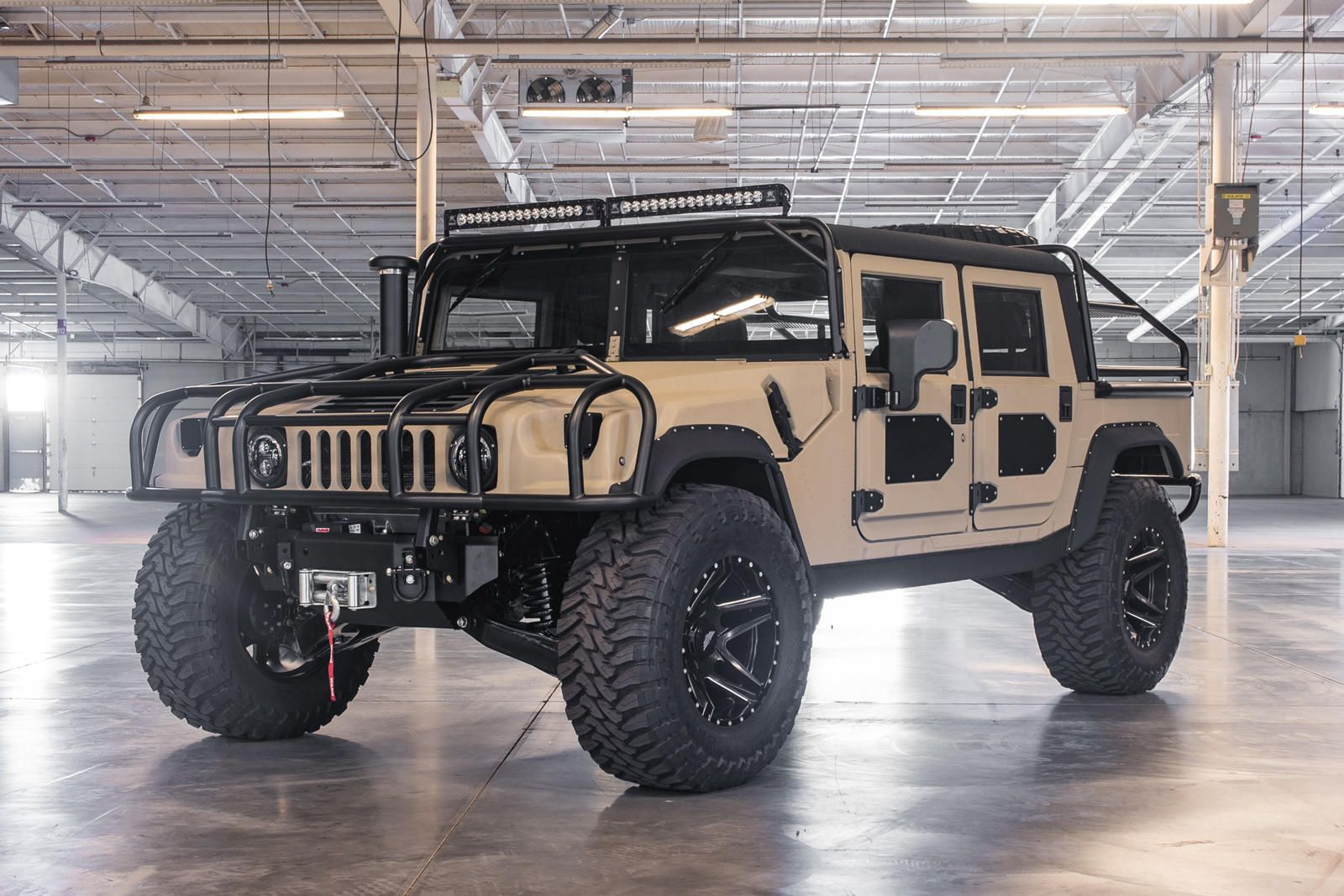 This Baja Ready Custom Built Hummer H1 Costs Over 250 000 Like