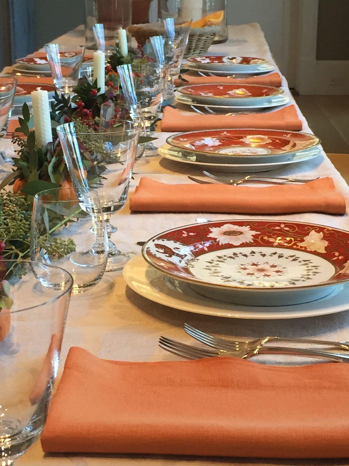 Thanksgiving table! | Entertaining | Pinterest | Thanksgiving table ...
