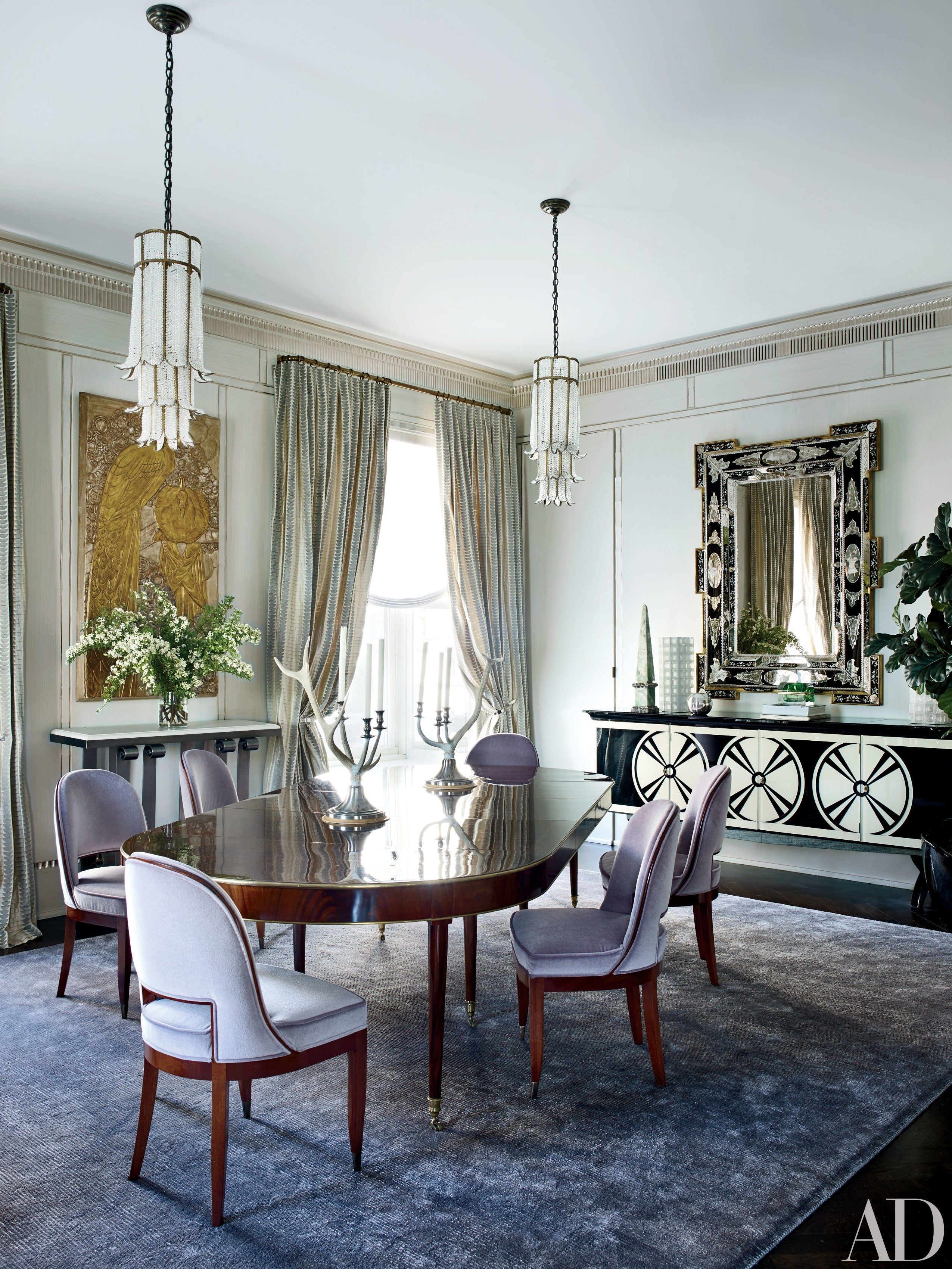 Here S How To Add Art Deco Design To Your Space Art Deco Dining Room Art Deco Room Art Deco Home