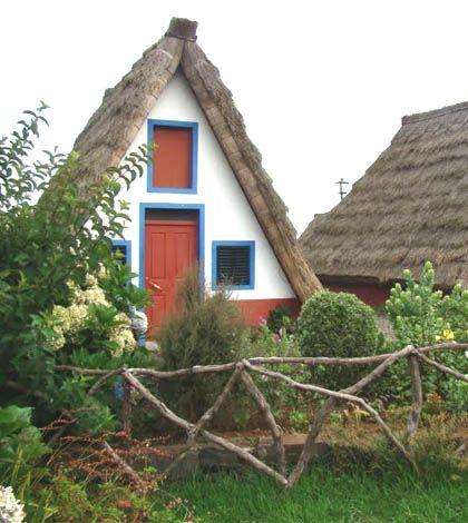 Santana's Typical Houses at Madeira Island Casas de