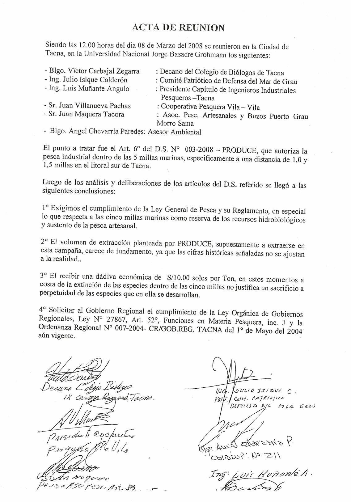 Reuniones Universidad Nacional Jorge Formatos para actas de reuniones
