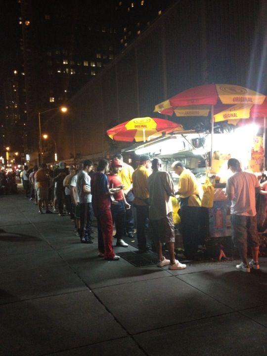 The Halal Guys Theater District New York Ny Halal Manhattan New York Ny Food