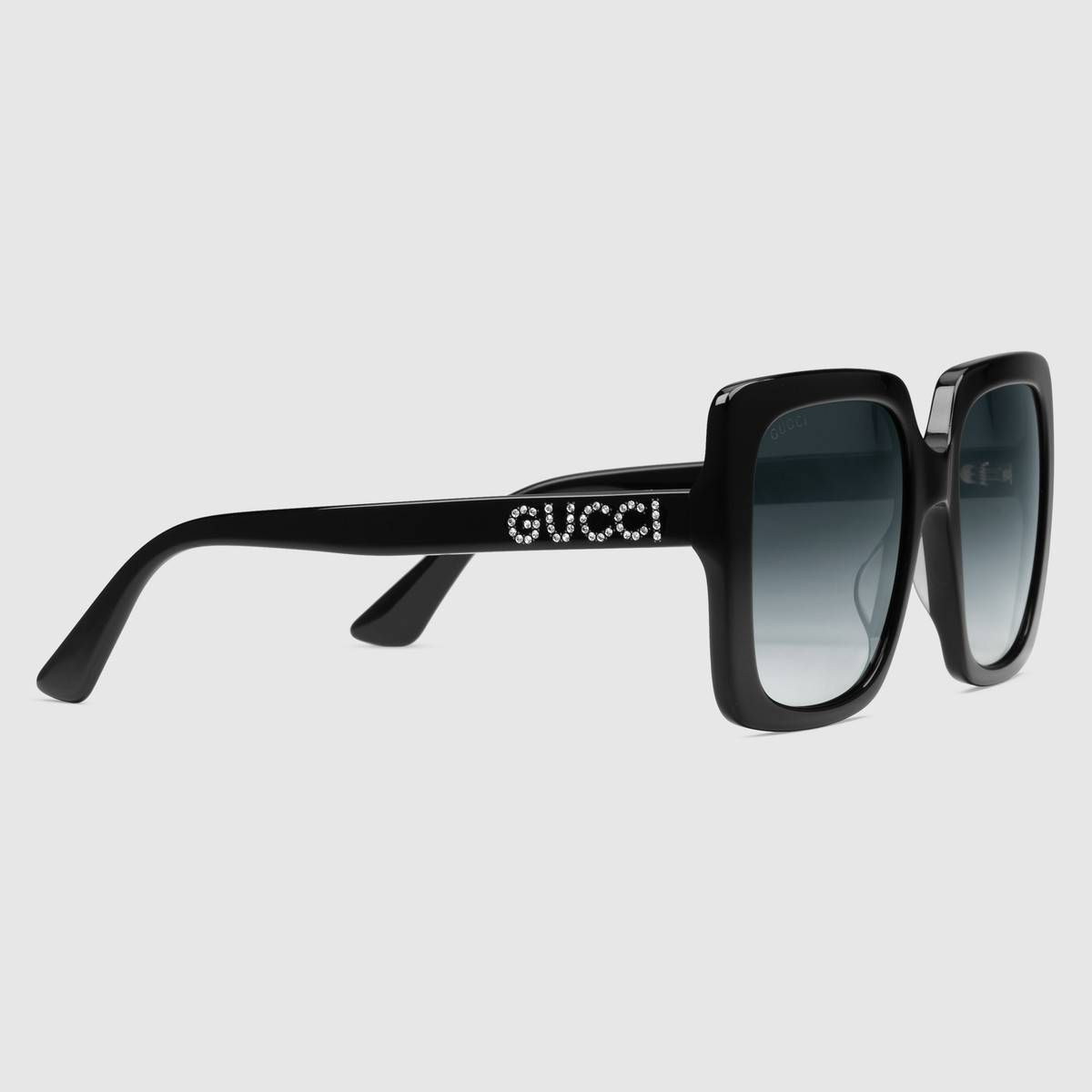 32829afea5b6e Gucci Rectangular-frame acetate sunglasses Detail 2