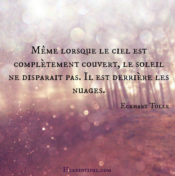 Citation Eckhart Tolle Regle De Vie Citation Disparaitre