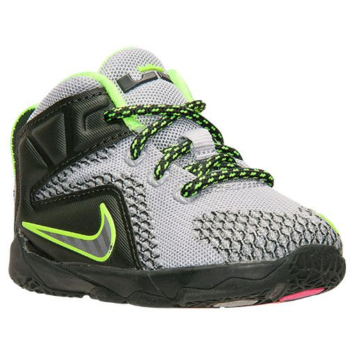 new concept f38eb 482ec Kids  Toddler Nike Lebron 12 Basketball Shoes - 685185 007   Finish Line