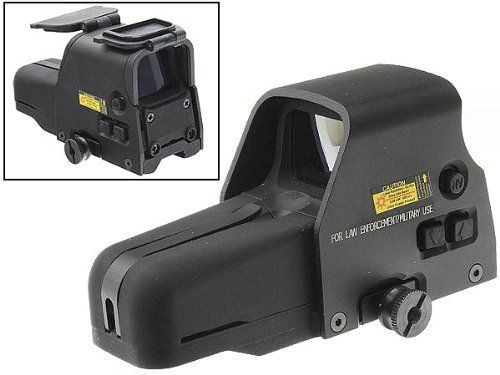 557 Style CQB Military Tactical HWS Red Green Dot Combat Sight QD