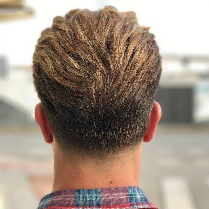 Znalezione Obrazy Dla Zapytania Men Hair Back View Taper Fade
