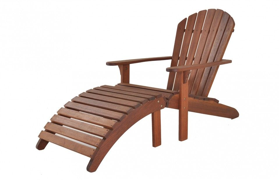 Cascade Adirondack Chair With Footrest   Genuine Adirondack Chair, Good  Price