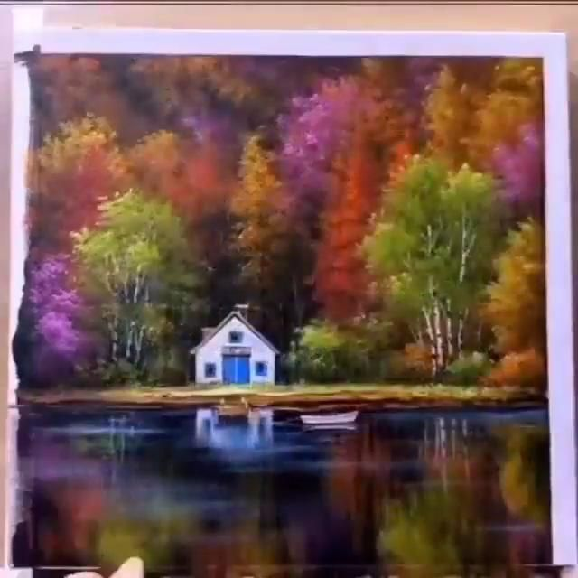 Mind Blowing Acrylic Painting Art