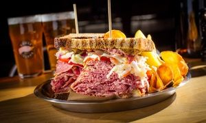 Groupon - Food and Drinks for Two or Beer Flight and Appetizer Platter for Two or Four at Goose Island Pub (Up to 44% Off) in Hard Rock Hotel & Casino. Groupon deal price: $35