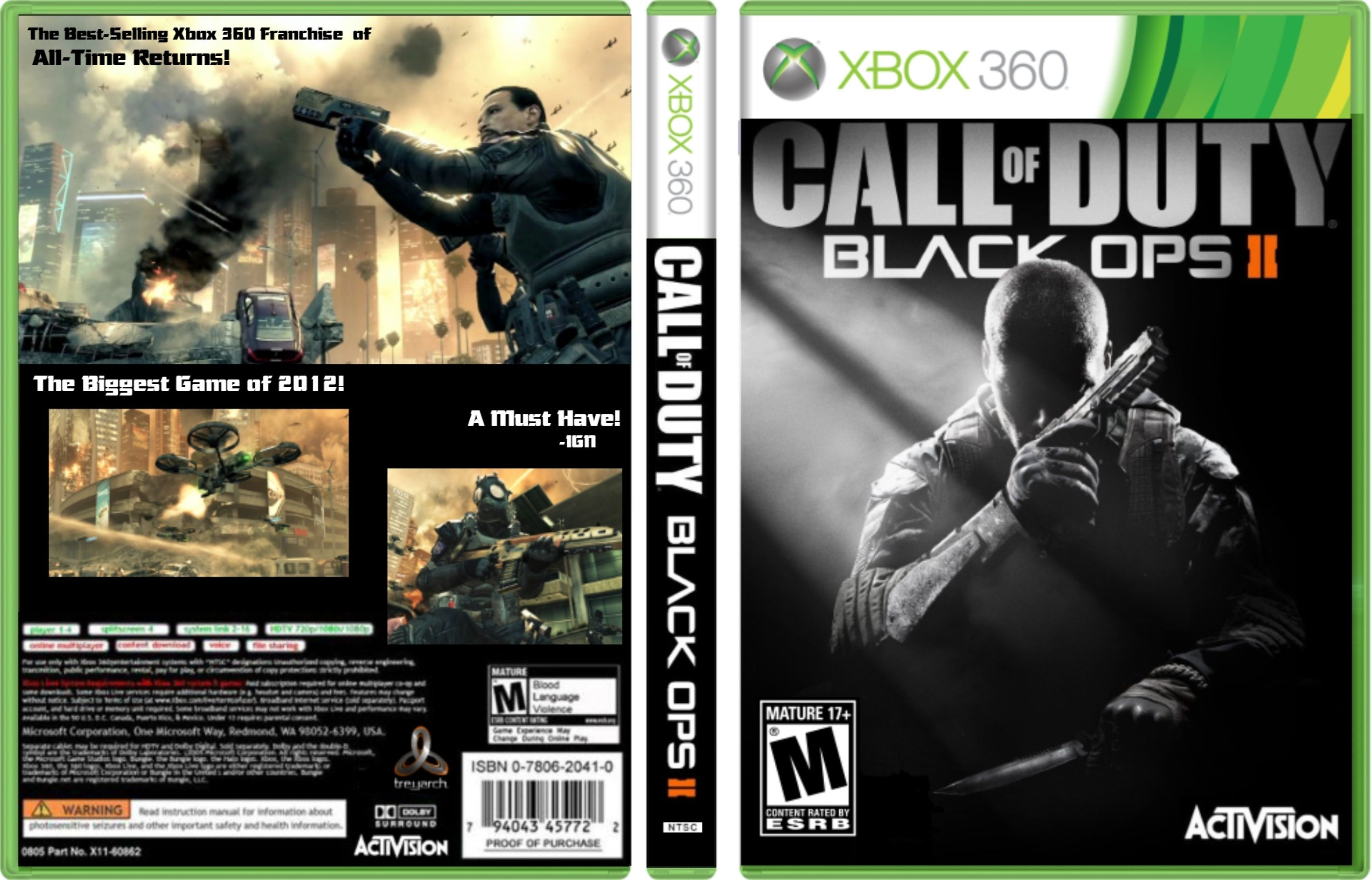 xbox 360 call of duty black ops 2 videogames that i. Black Bedroom Furniture Sets. Home Design Ideas