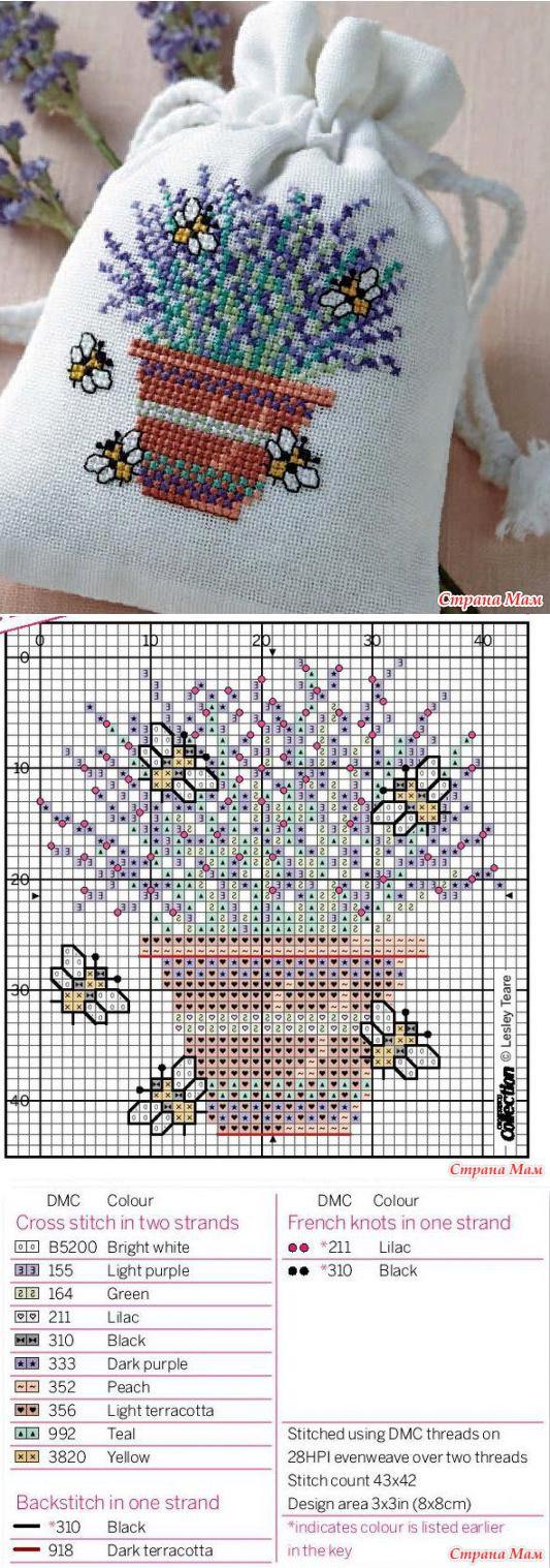 Вышивка крестом схемы #bags