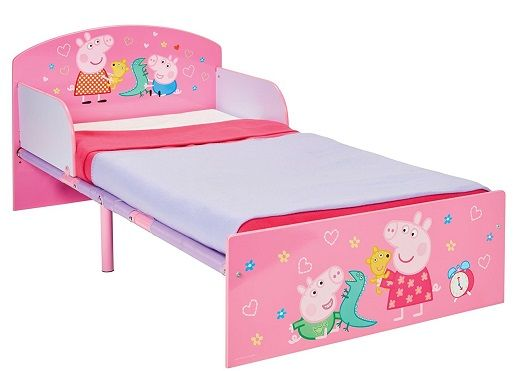 Oferta Cama Peppa Pig infantil - 505PED | Camas para niños ...