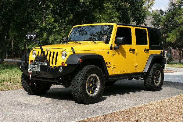 Jeep Rubicon 4 Door Wrangler In California Yellow Jeep Wrangler Unlimited Jeep Wrangler 4 Door Jeep Wrangler