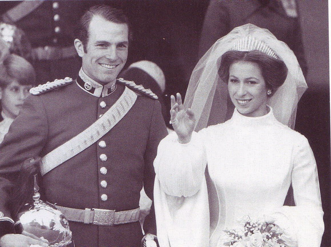 Princess Anne wore the Russian Fringe tiara on her wedding